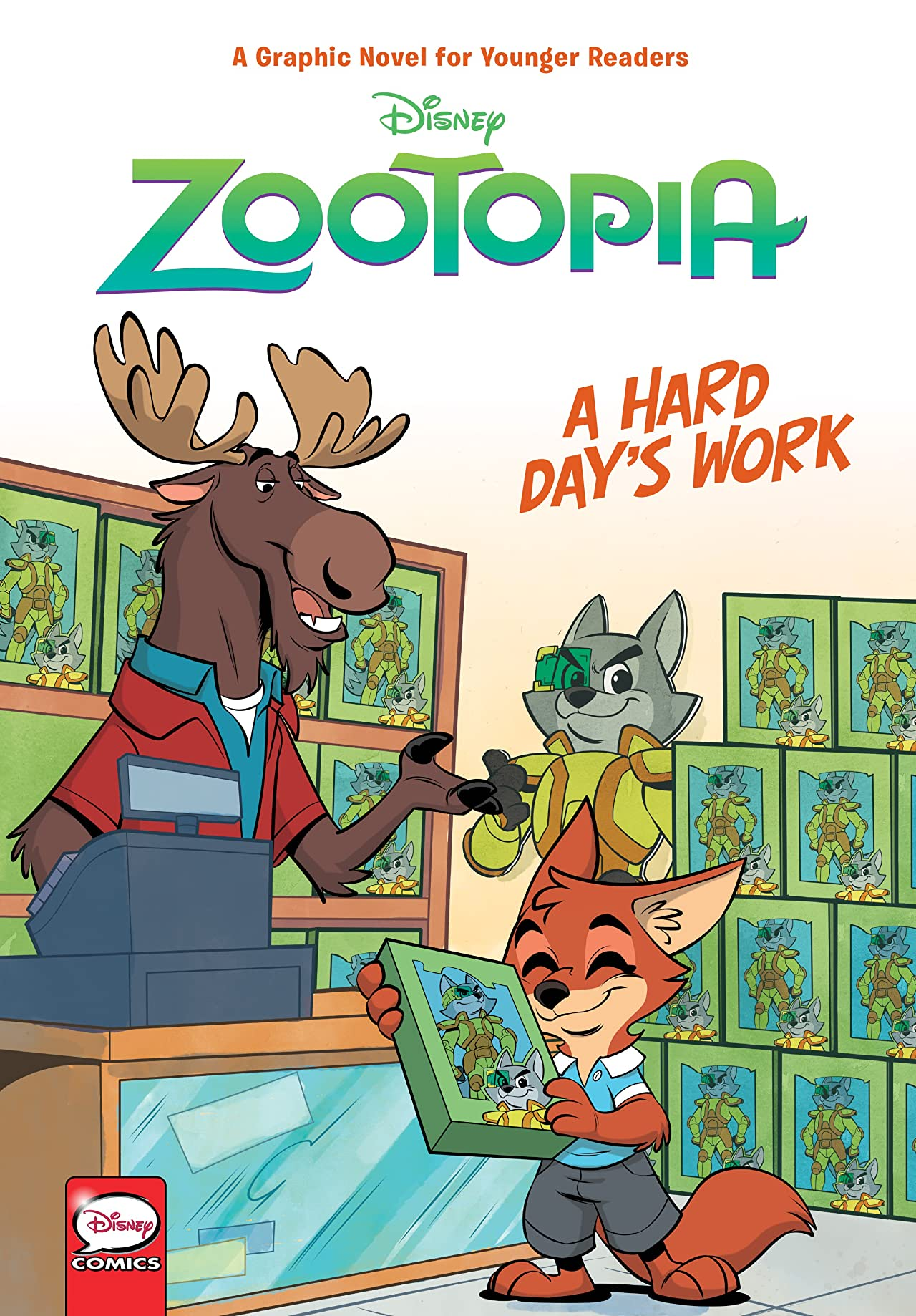 Disney Zootopia: Hard Day's Work (Younger Readers)