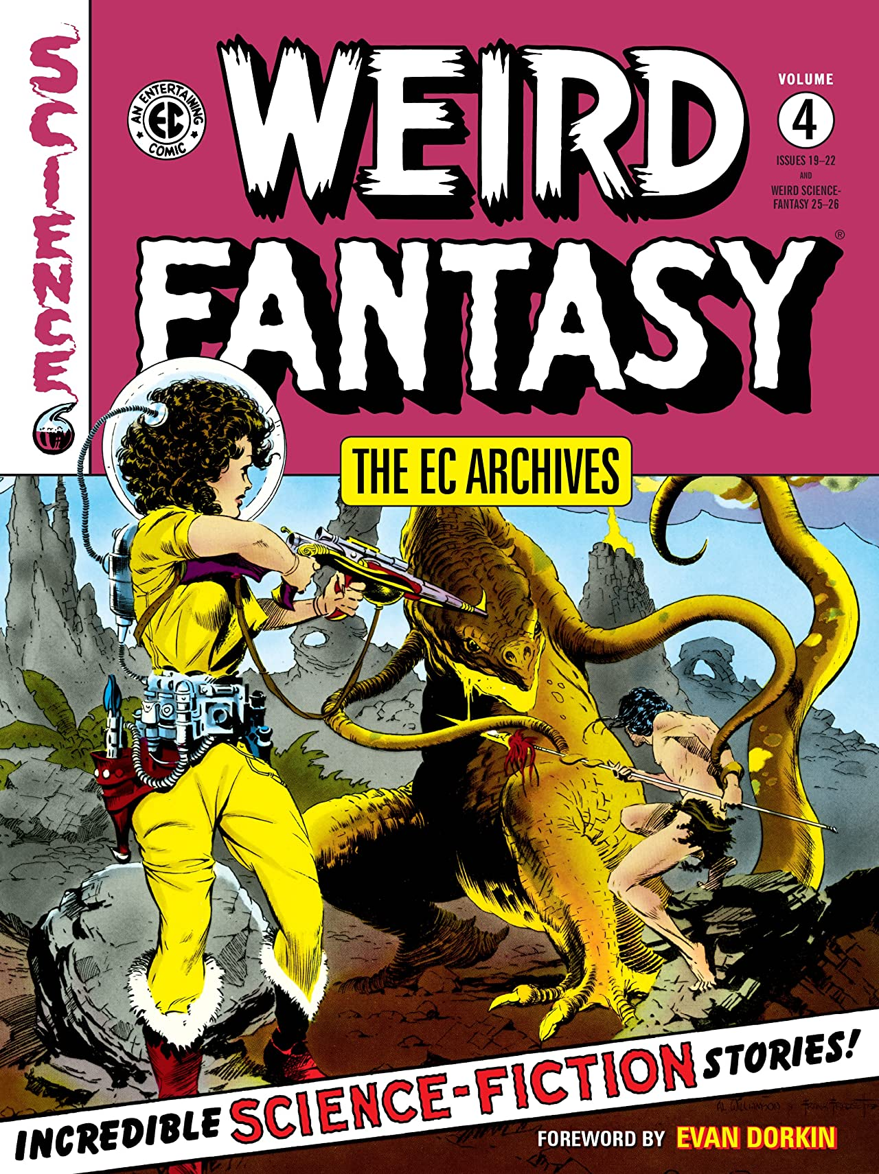 The EC Archives: Weird Fantasy Tome 4