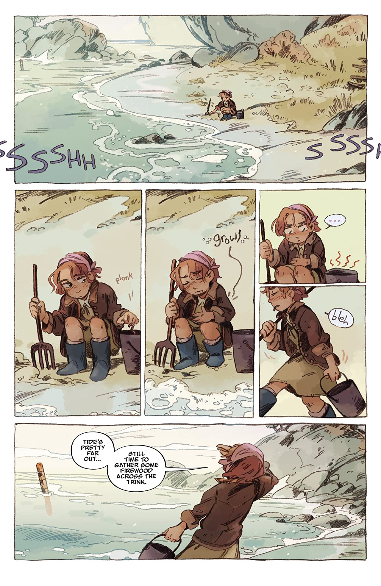 Jim Henson's The Storyteller: Sirens #3