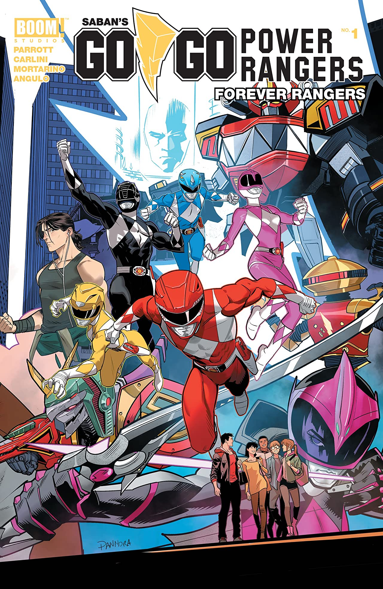 Saban's Go Go Power Rangers: Forever Rangers No.1