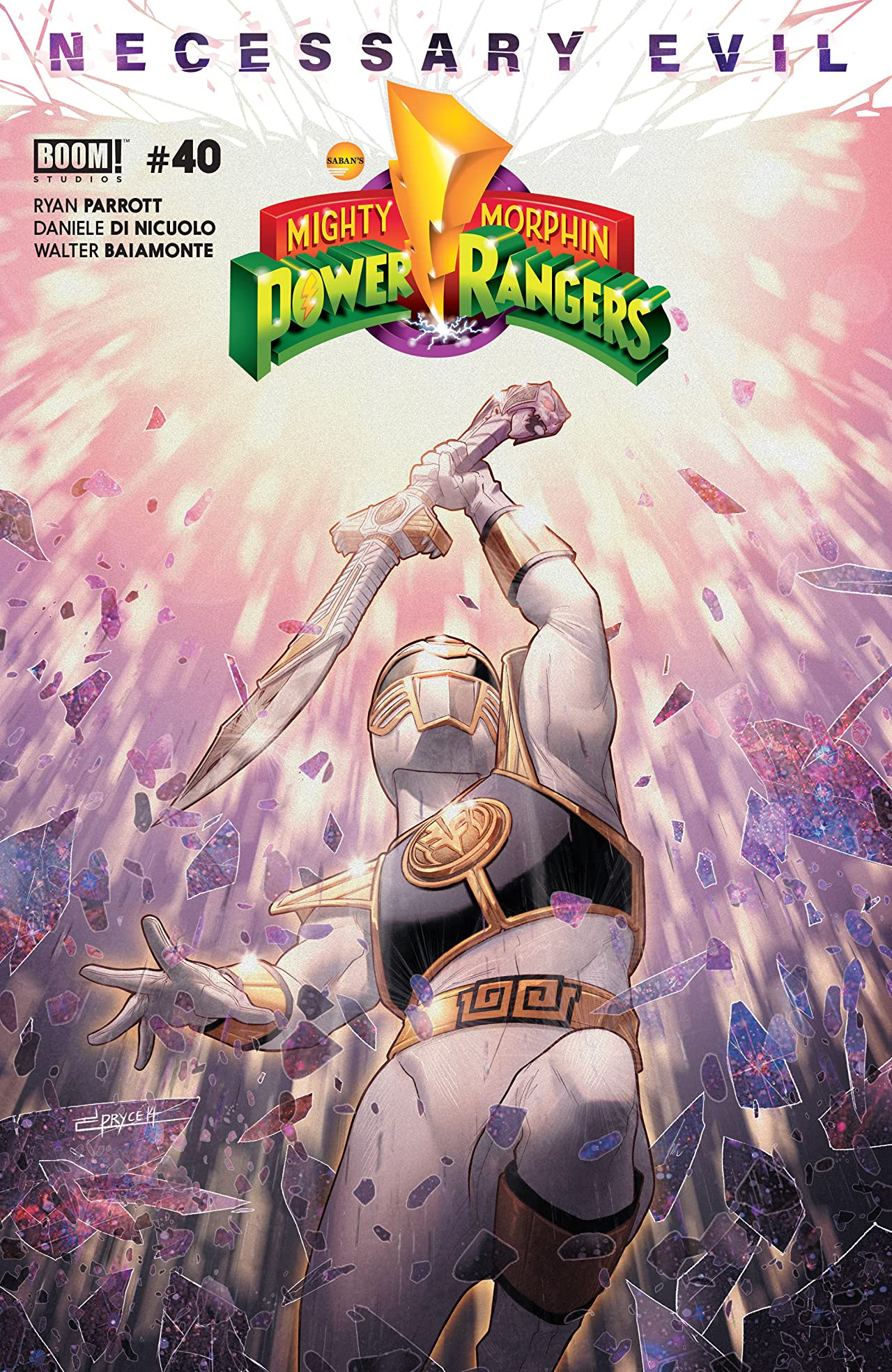 Mighty Morphin Power Rangers No.40