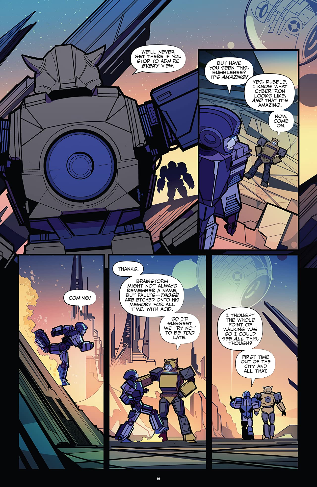 Transformers Tome 1: The World in Your Eyes