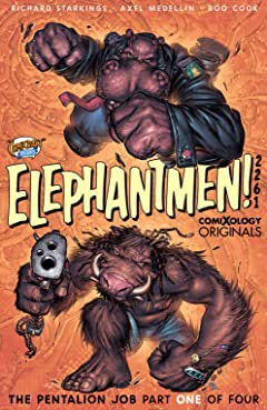 Elephantmen 2261 Season Two No.1 (sur 4): The Pentalion Job (comiXology Originals)