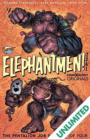 Elephantmen 2261 Season Two (comiXology Originals) #1 (of 4): The Pentalion Job