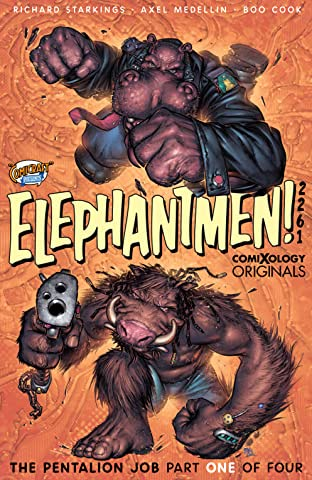 Elephantmen 2261 Season Two No.1 (sur 4): The Pentalion Job (comiXology Originals)