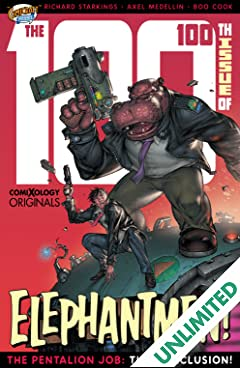 Elephantmen 2261 Season Two (comiXology Originals) #4 (of 4): The Pentalion Job