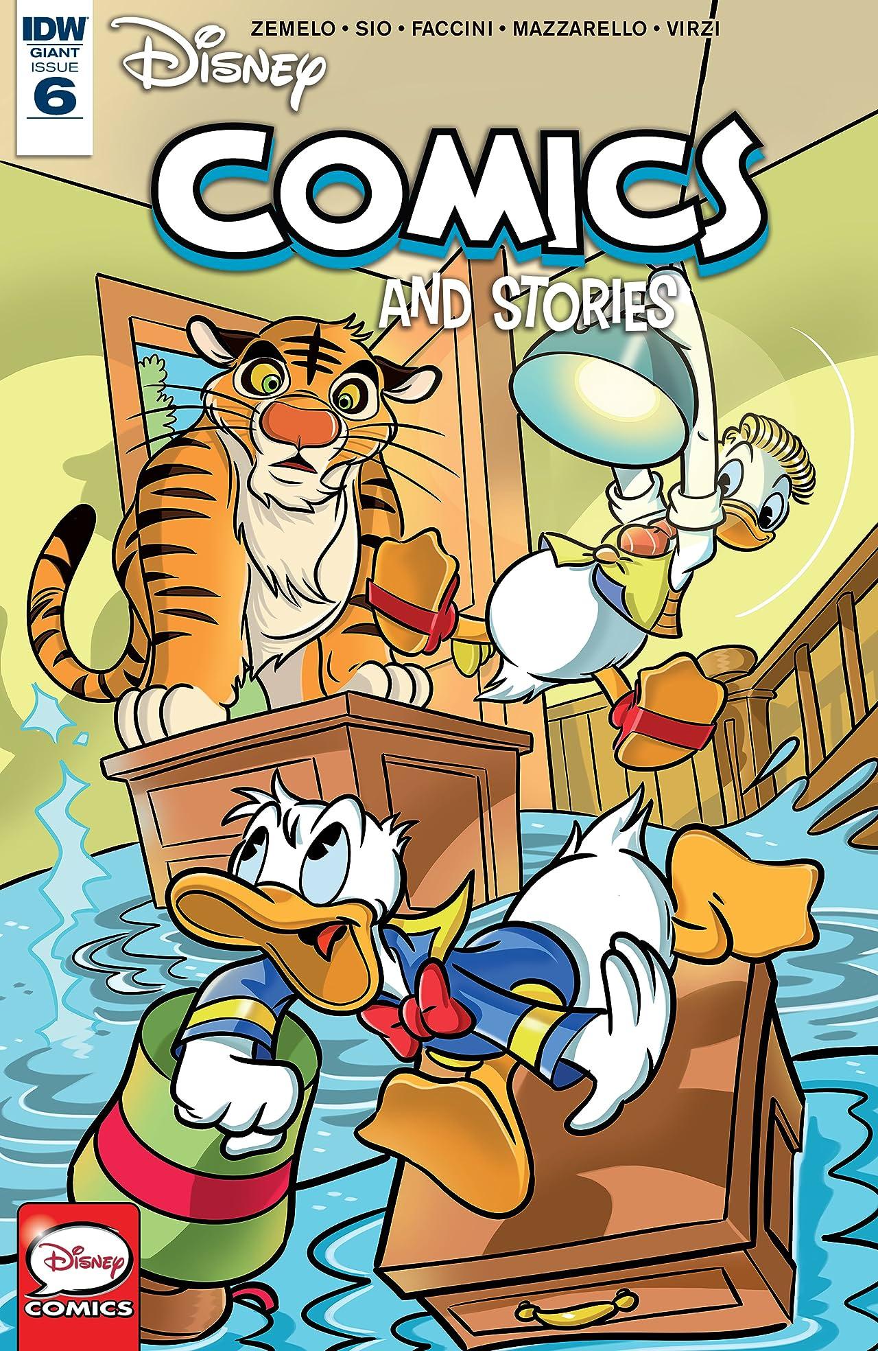 Disney Comics and Stories #6
