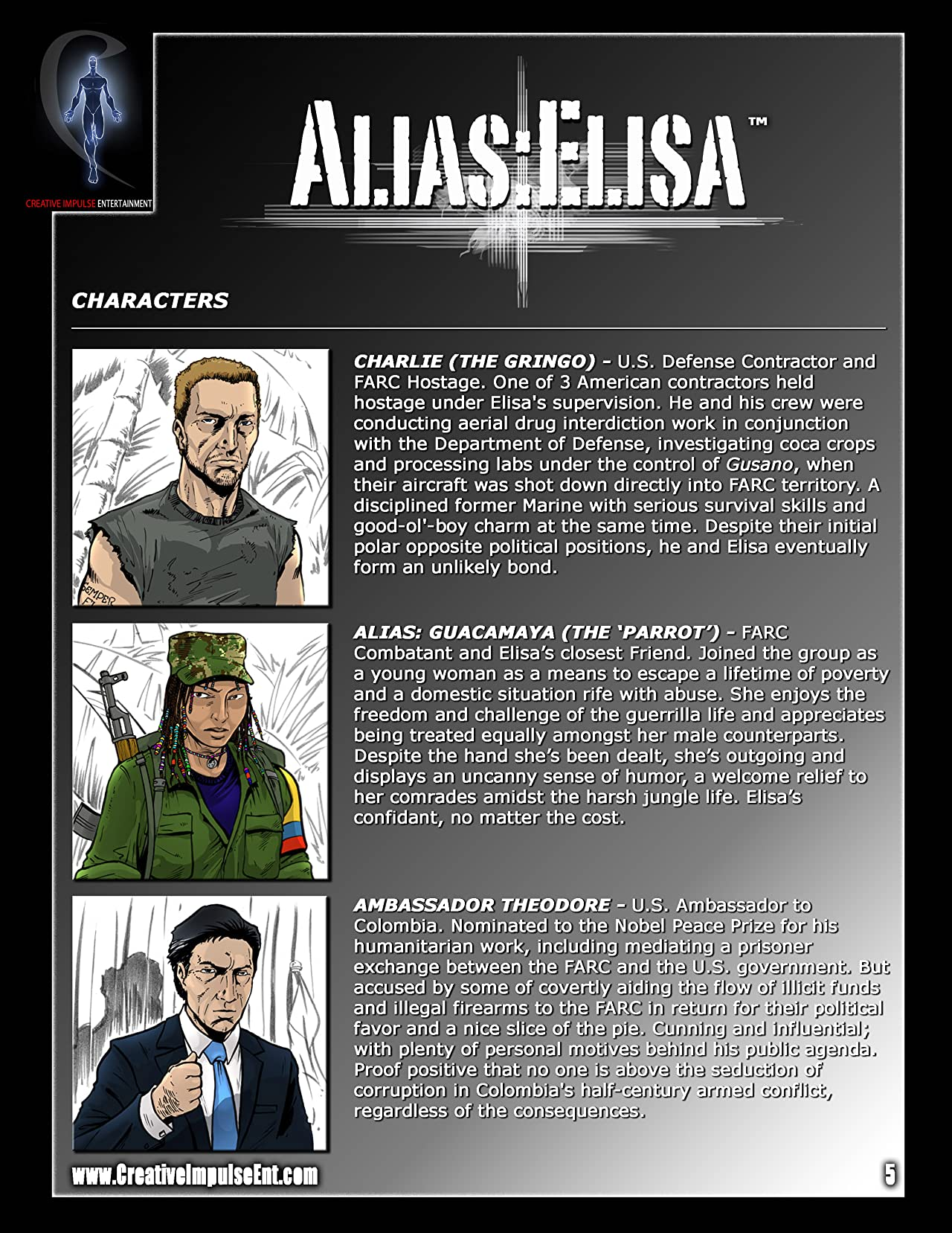 Alias: Elisa - Intro Kit