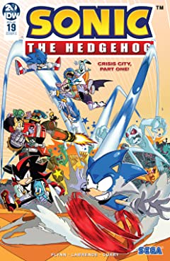 Sonic The Hedgehog (2018-) #19