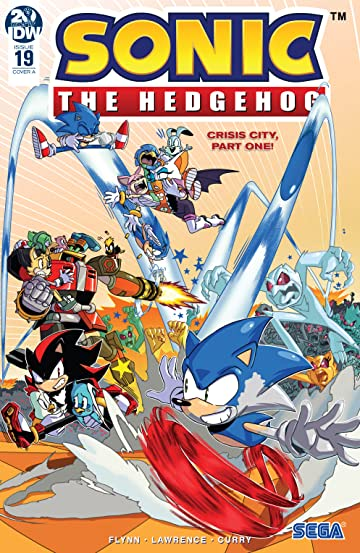 Sonic The Hedgehog (2018-) No.19