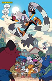 Sonic the Hedgehog: Tangle & Whisper No.1