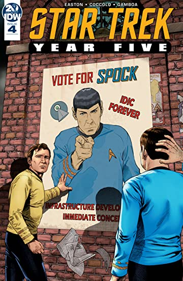 Star Trek: Year Five #4