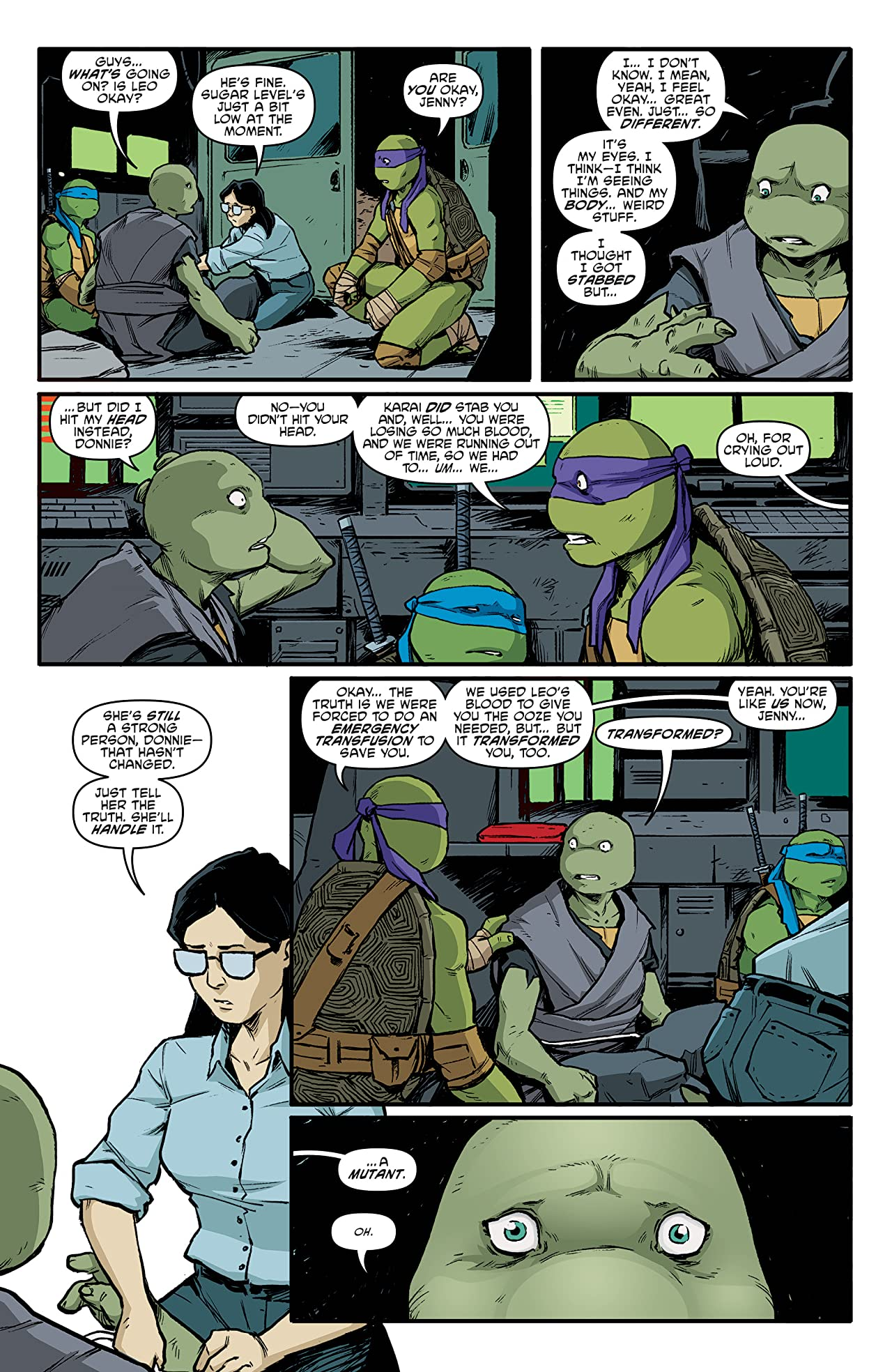 Teenage Mutant Ninja Turtles No.96