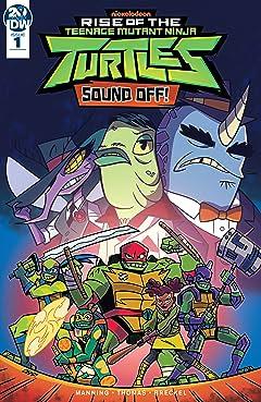 Teenage Mutant Ninja Turtles: Rise of the TMNT: Sound Off! No.1 (sur 3)
