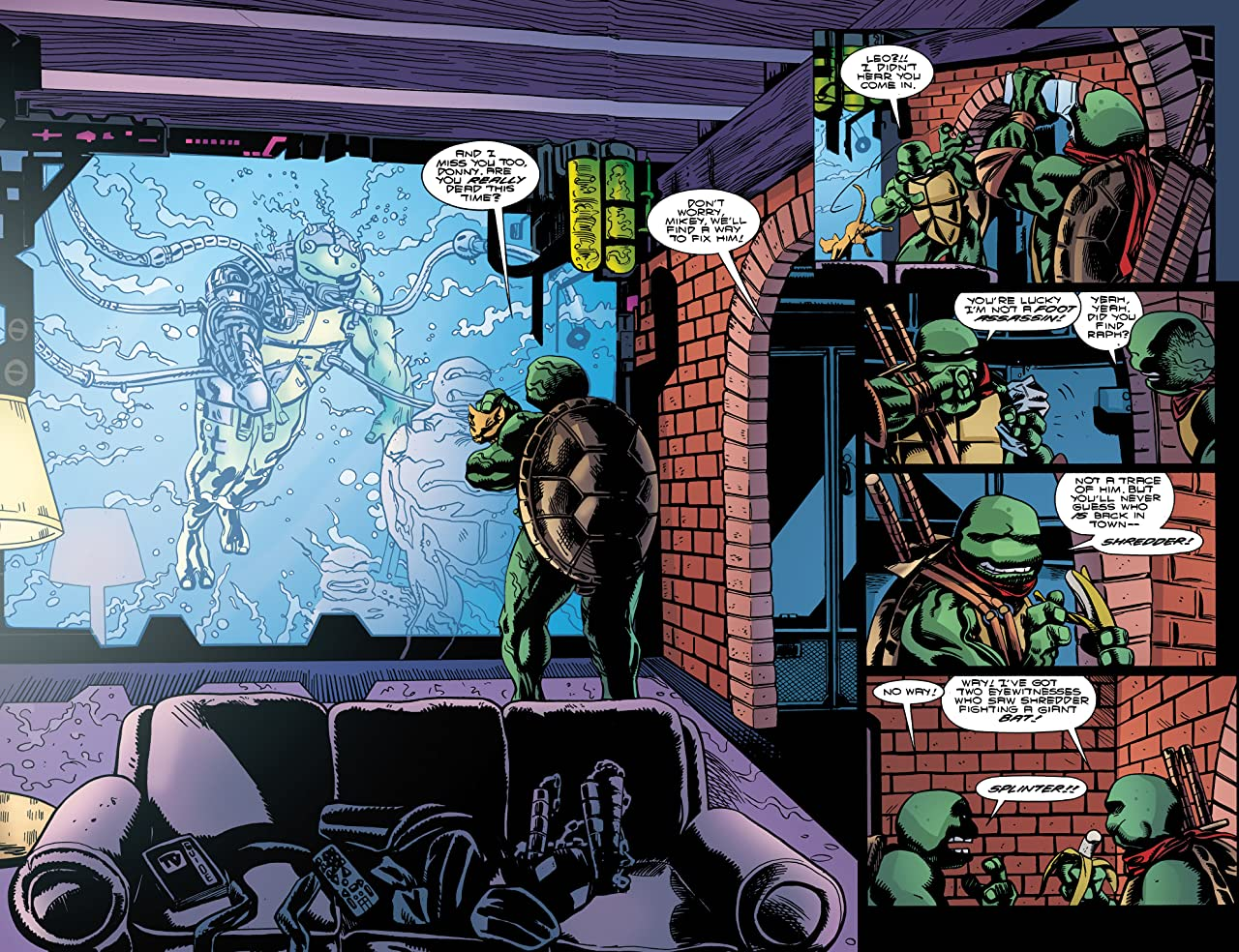Teenage Mutant Ninja Turtles: Urban Legends #15