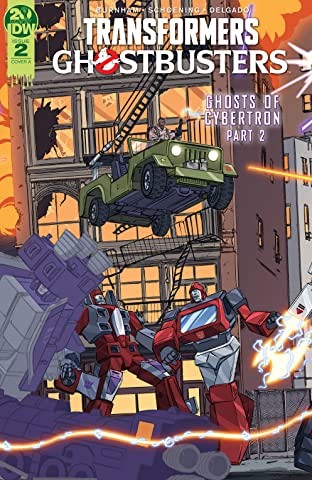 Transformers/Ghostbusters #2