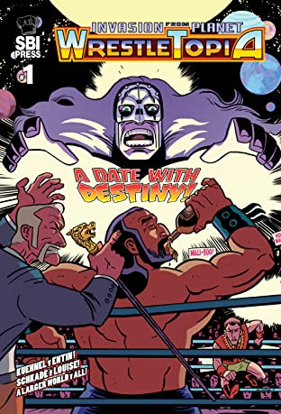Invasion from Planet Wrestletopia No.1