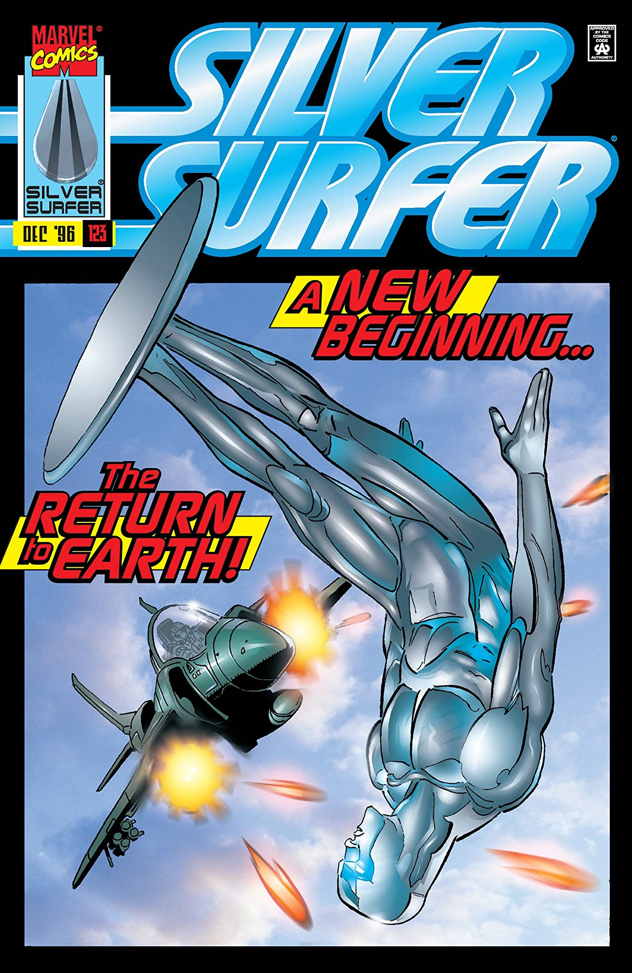 Silver Surfer (1987-1998) #123