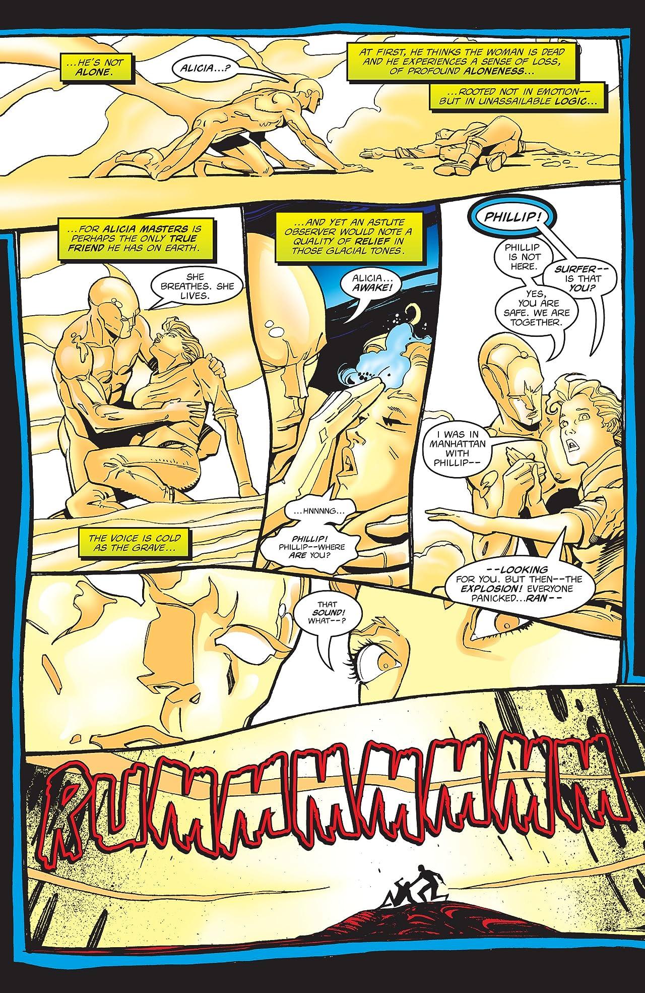 Silver Surfer (1987-1998) #129
