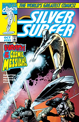 Silver Surfer (1987-1998) #132