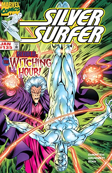 Silver Surfer (1987-1998) #135