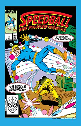 Speedball (1988-1989) #2