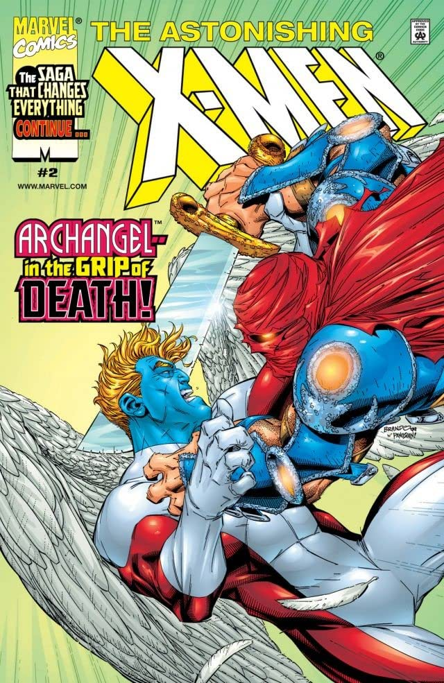 Astonishing X-Men (1999) #2