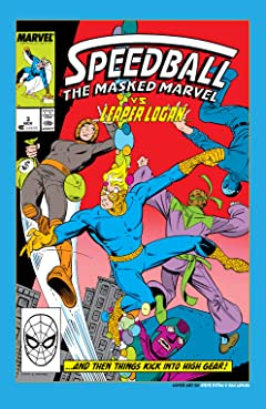 Speedball (1988-1989) #3