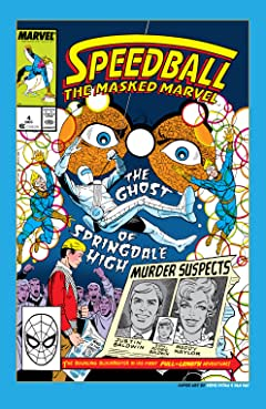 Speedball (1988-1989) #4
