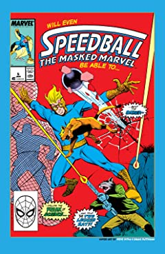 Speedball (1988-1989) #5