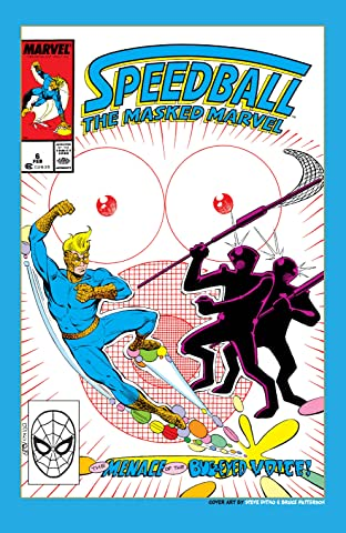 Speedball (1988-1989) #6