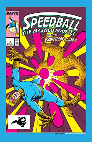 Speedball (1988-1989) #8