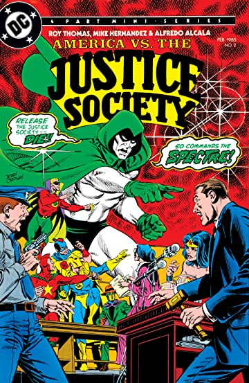 America Vs. The Justice Society (1985) No.2