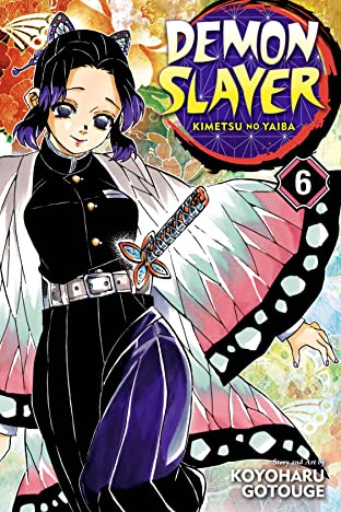 Demon Slayer:Kimetsu no Yaiba Vol. 6: The Demon Slayer Corps Gathers