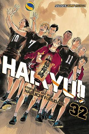 Haikyu!! Vol. 32: Pitons