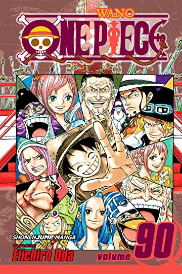 One Piece Vol. 90: Sacred Marijoa
