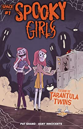 Spooky Girls: Tarantula Twins #1