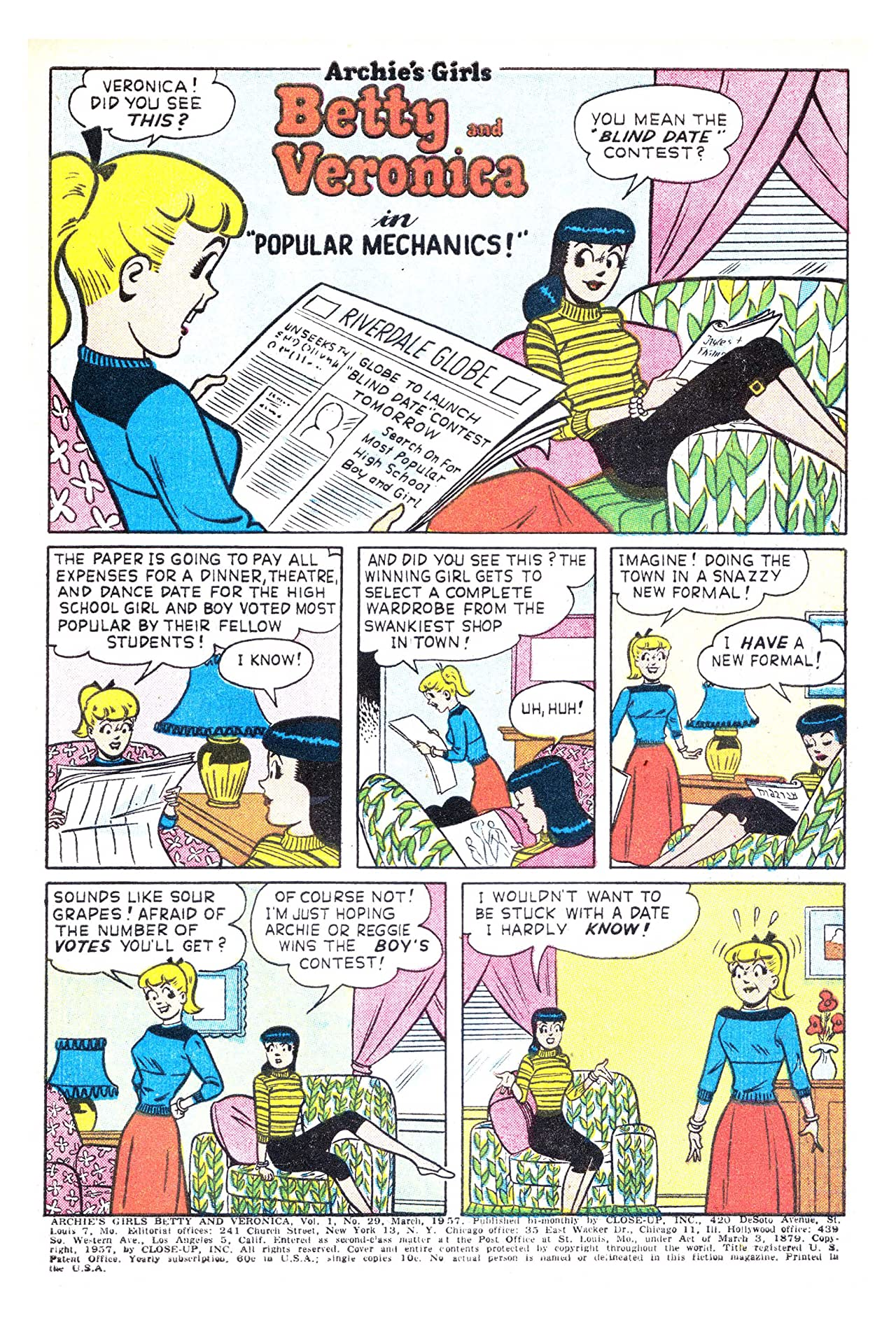 Archie's Girls Betty & Veronica No.29