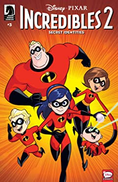 Disney•PIXAR The Incredibles 2: Secret Identities No.3