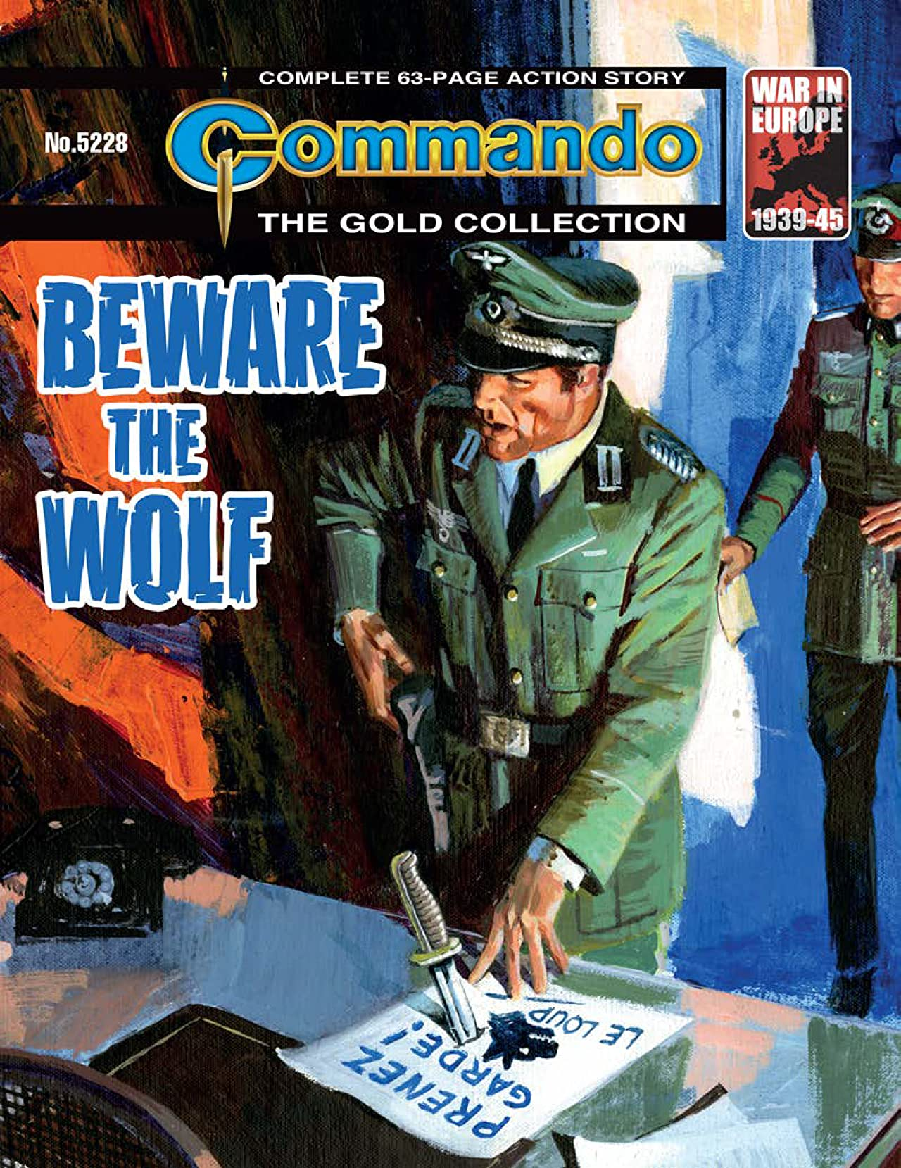 Commando No.5228: Beware The Wolf