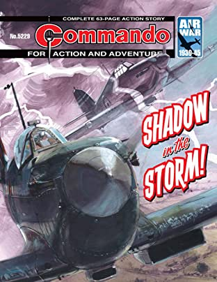 Commando No.5229: Shadow In The Storm