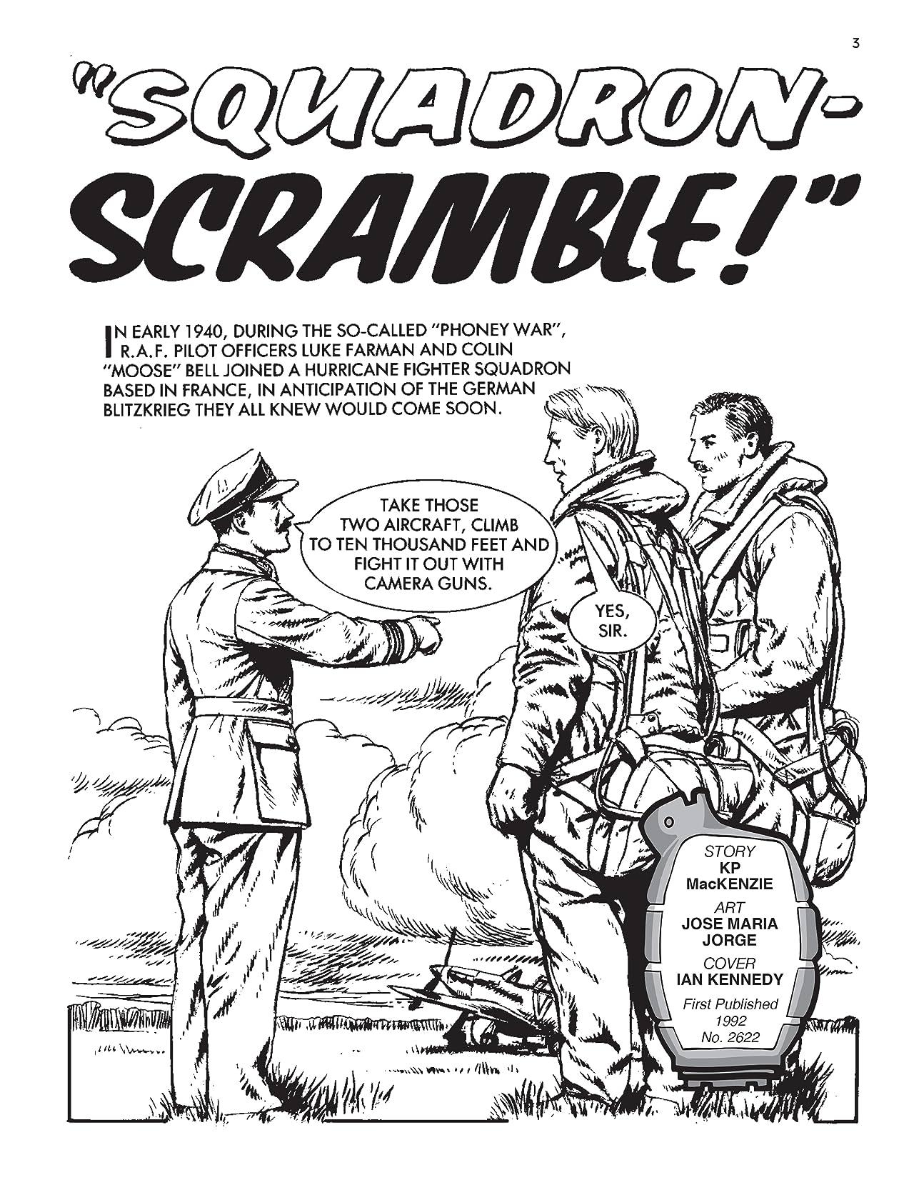 """Commando #5230: """"Squadron - Scramble!"""""""