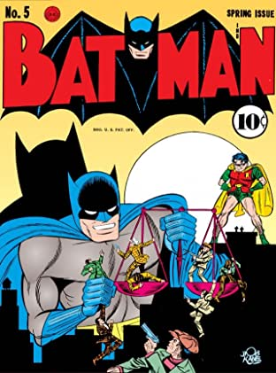 Batman (1940-2011) No.5