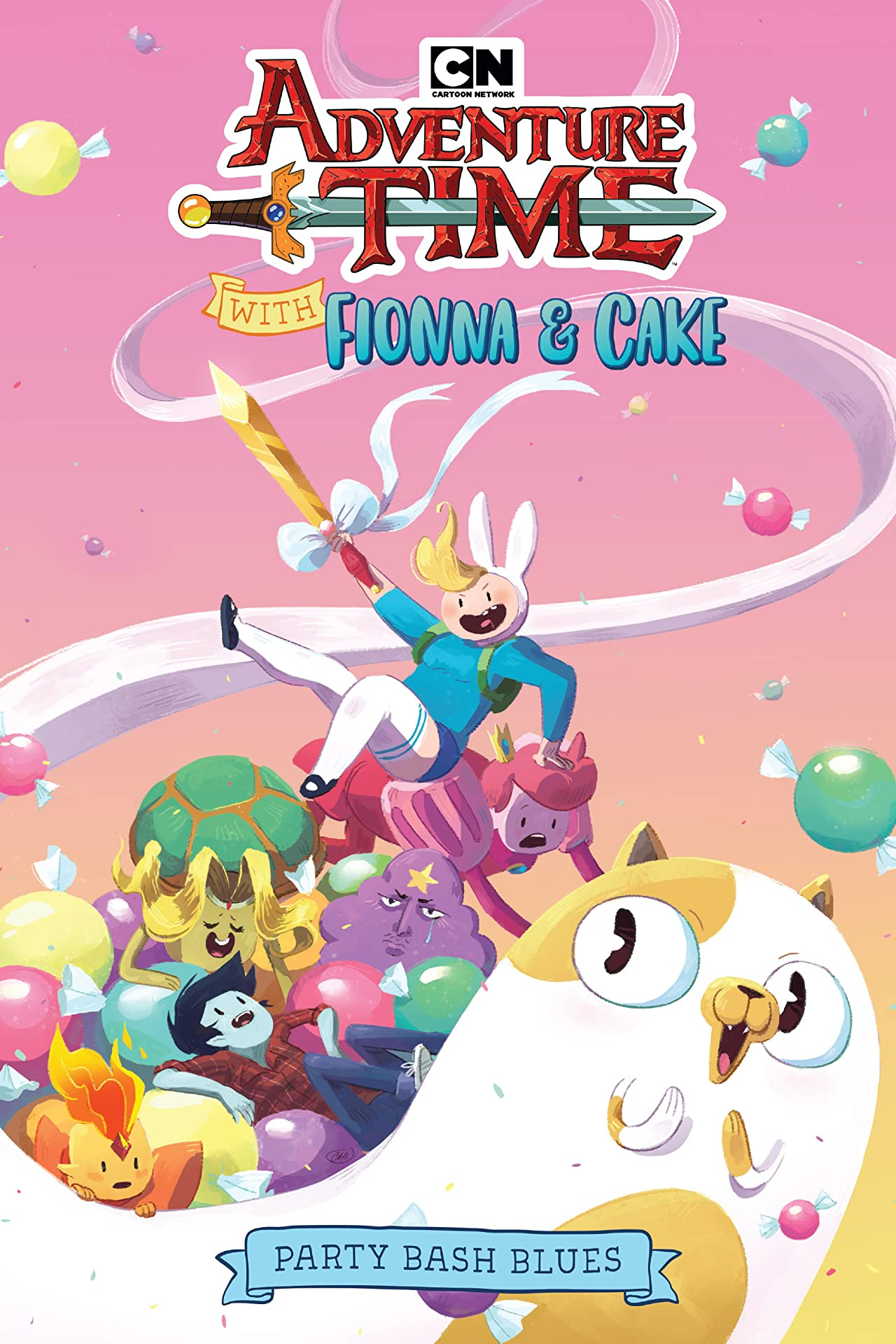 Adventure Time with Fionna & Cake: Party Bash Blues