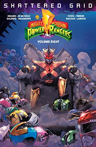 Mighty Morphin Power Rangers Tome 8