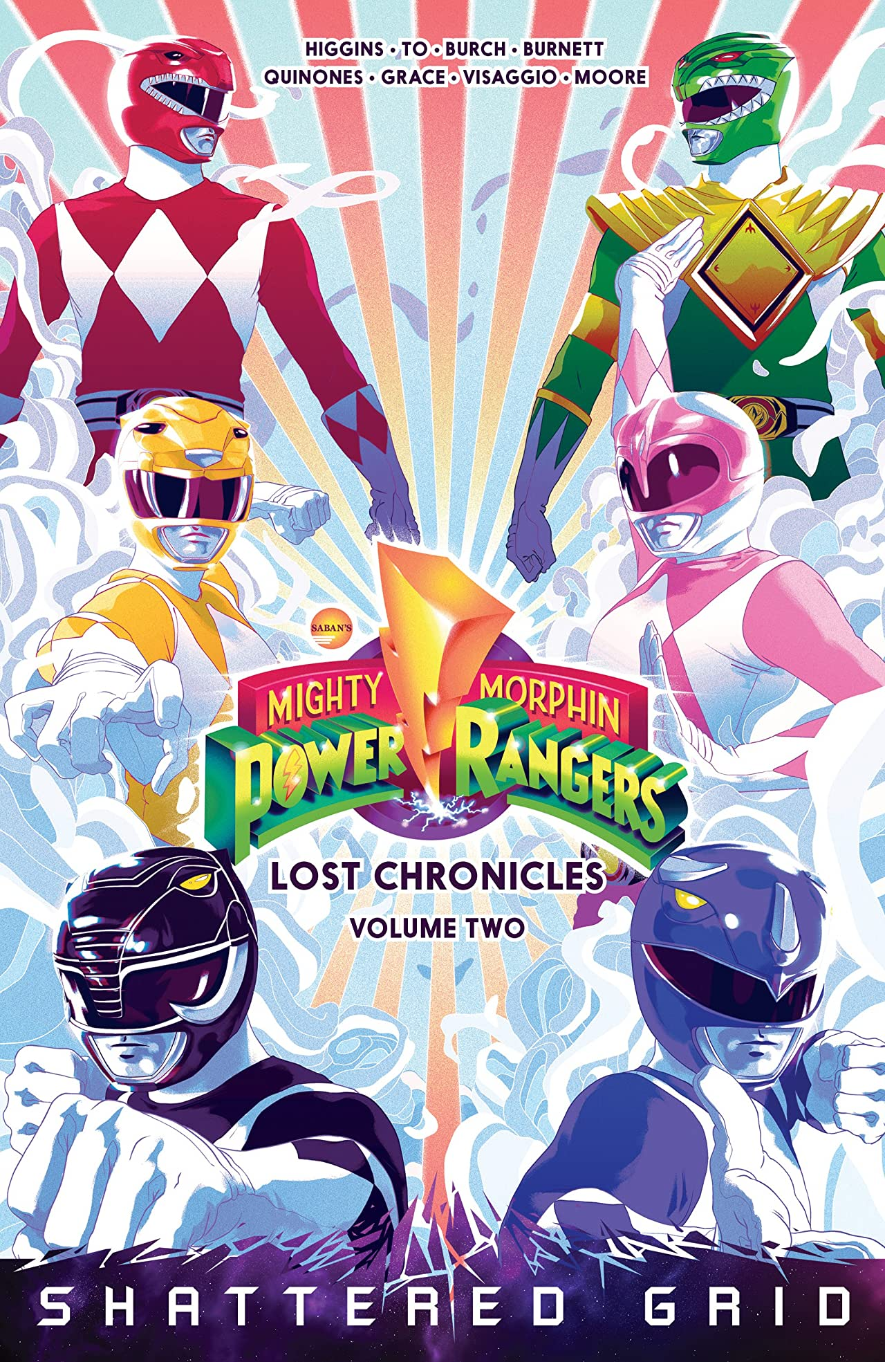 Mighty Morphin Power Rangers: Lost Chronicles Tome 2