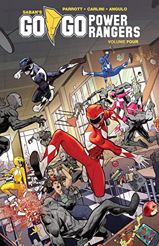 Saban's Go Go Power Rangers Tome 4