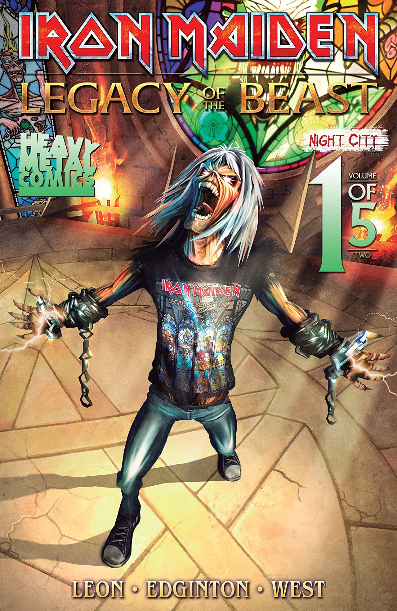 Iron Maiden: Legacy of the Beast - Night City No.1 (sur 5)
