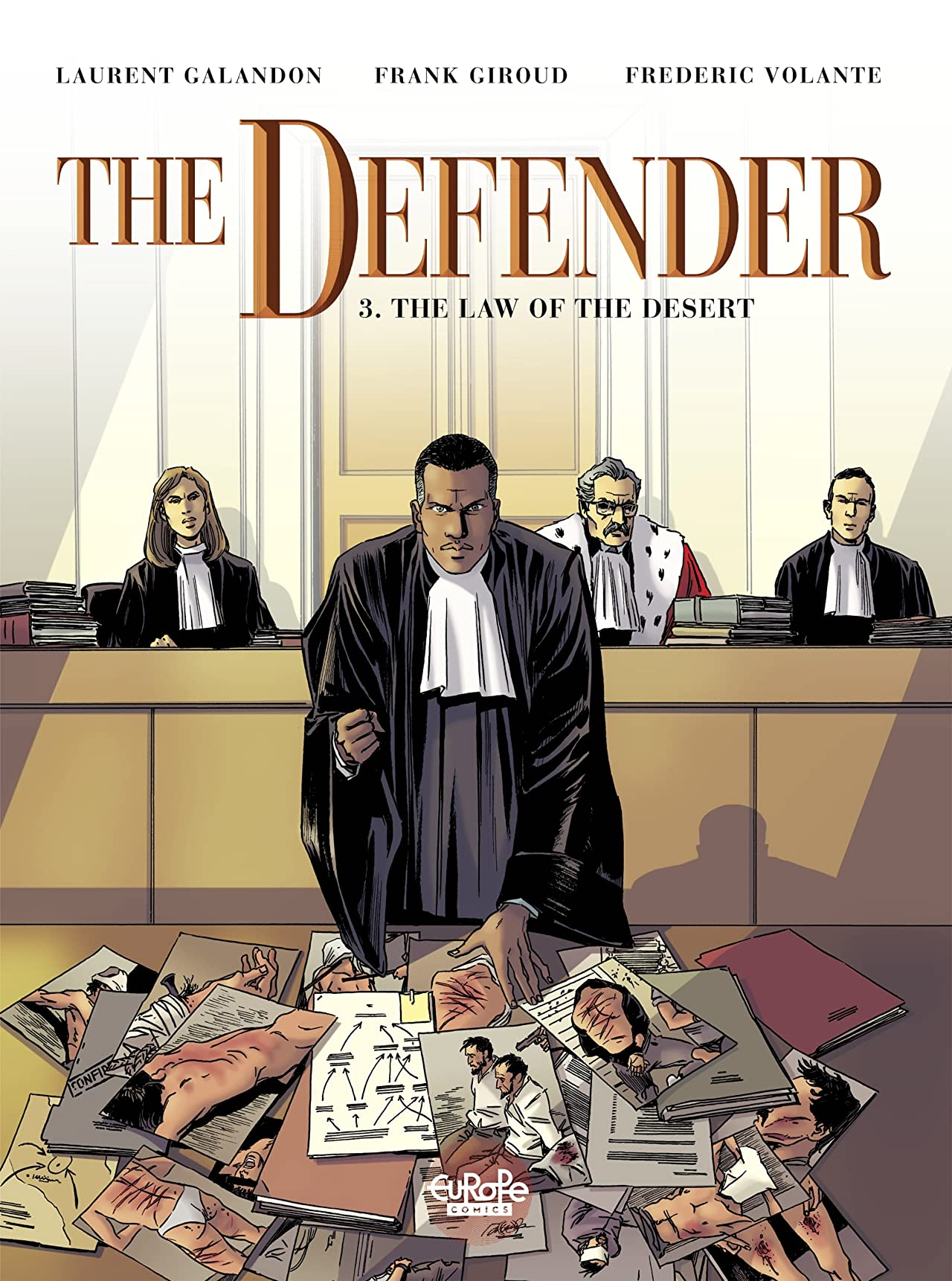 The Defender: The Law of the Desert