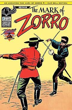 Zorro: The Mark of Zorro No.1
